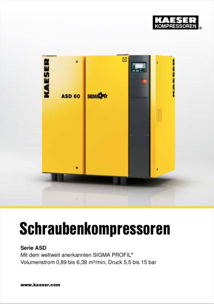 KAESER Schraubenkompressor Serie ASD