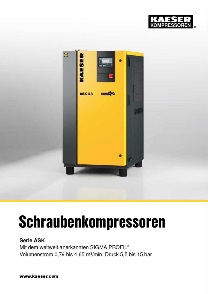 KAESER Schraubenkompressor Serie ASK