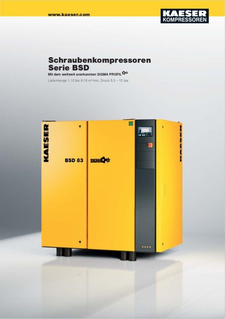 KAESER Schraubenkompressor Serie BSD