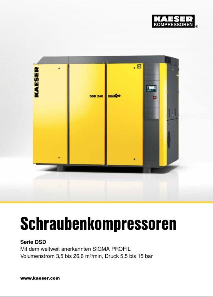 KAESER Schraubenkompressor Serie DSD