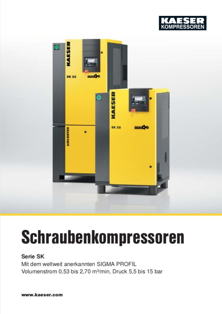 KAESER Schraubenkompressor Serie SK