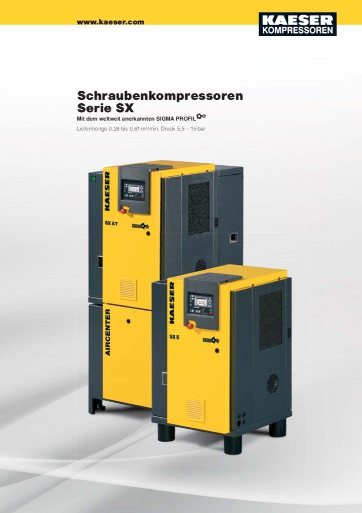 KAESER Schraubenkompressor Serie SX 2015