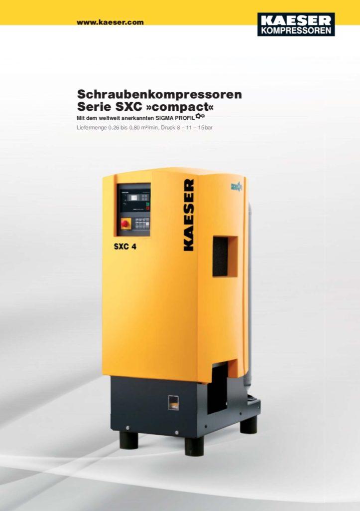 KAESER Schraubenkompressor Serie SXC 2018