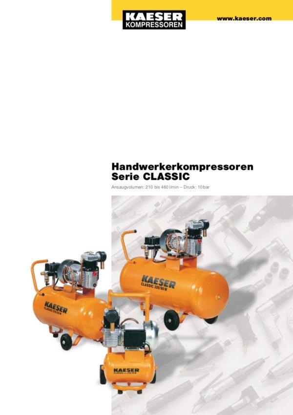 KAESER Kolbenkompressor Serie Classic