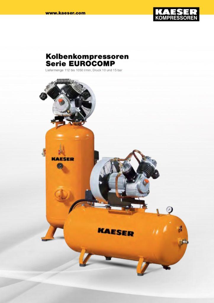 KAESER Kolbenkompressor Serie EUROCOMP