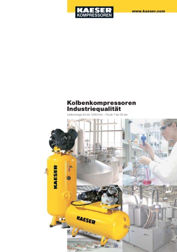 KAESER Kolbenkompressor Industreiqualität