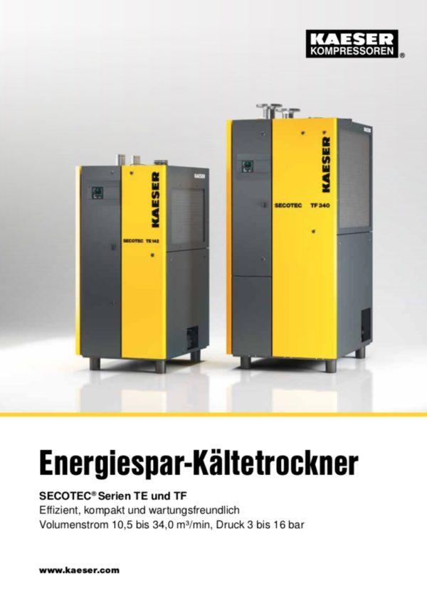 KAESER Energiespar-Kältetrockner