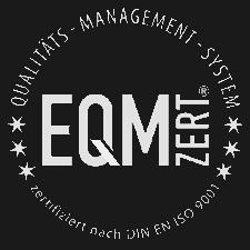 EQM ISO9001 Zertifikat